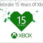 おめでとう!!「祝 Xbox 15周年」を記念したイベントが開催!!