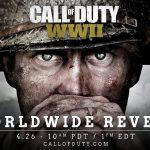 第二次世界大戦はマジだった!!「Call of Duty: WWII」公式サイトでカウントダウンを開始!これは買いだな!